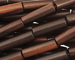 Ebony Wood Tube 26-28x8-9mm
