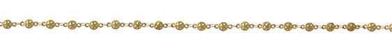 Zola Elements Star Coin Link Brass Chain