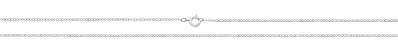 Sterling Silver Finished Dainty Curb Chain 18""