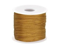 Honey Chinese Knotting Cord 0.8mm, 120 yard spool