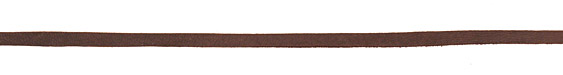 Chocolate Deerskin Leather Lace 3/16""