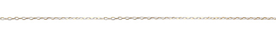 Neo White Oval Cut Cable Chain 3.5x2mm