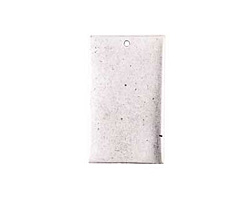 Nunn Design Antique Silver (plated) Flat Grande Rectangle Tag 21x37mm