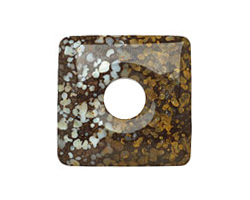 Brazilian Opal Square Donut 40mm