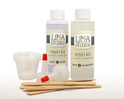 LimaStudios Crystal Clear Resin 8 oz. Kit