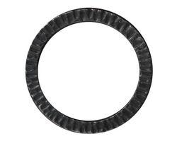 "TierraCast Gunmetal 1 1/4"" Radiant Ring 32mm"