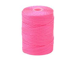 C-Lon Neon Pink (.5mm) Bead Cord