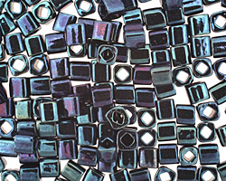 TOHO Metallic Nebula Cube 4mm Seed Bead
