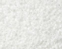 TOHO Aiko Opaque White Precision Cylinder 11/0 Seed Bead