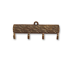 Vintaj Natural Brass Decorative Connector Hanger 30x12mm