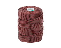 C-Lon Black Currant Tex 400 (1mm) Bead Cord