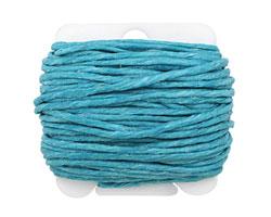 Turquoise Irish Waxed Linen 12 ply