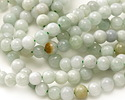 Burma Jade (light) Round 6mm