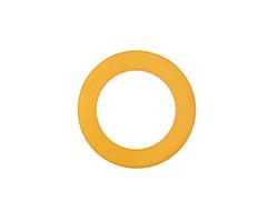 Desert Gold Recycled Glass Ring 23mm