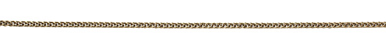 Antique Brass (plated) Braided Cable Chain