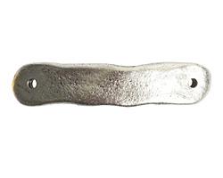 Nunn Design Antique Silver (plated) Bracelet Tag Link 8.5x39mm