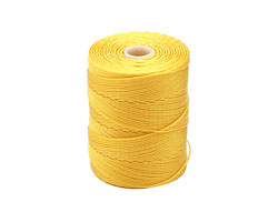 C-Lon Golden Yellow Fine Weight (.4mm) Bead Cord