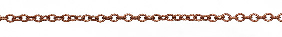 Antique Copper (plated) Roped Cable Chain