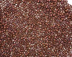 TOHO Matte Mauve Mocha Round 15/0 Seed Bead
