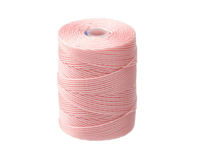 C-Lon Bubblegum Pink (.5mm) Bead Cord