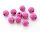 Pink Wood Round 10mm