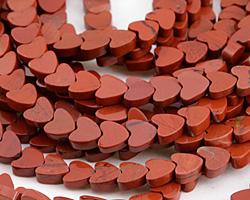 Red Jasper Heart 6mm