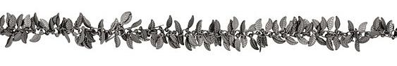 Gunmetal Falling Leaves Chain