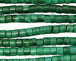 Malachite Heishi 6mm
