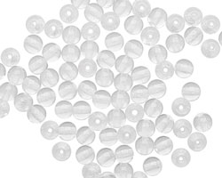 Czech Glass Crystal Round 4mm