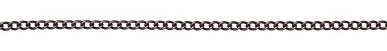 Antique Copper (plated) Medium Curb Chain