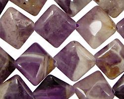 Dogtooth Amethyst Diamond 16mm