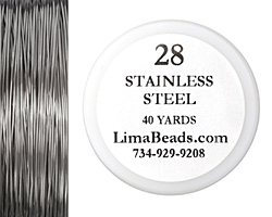 Parawire Stainless Steel 28 Gauge, 40 Yards