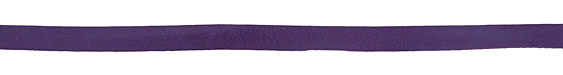 Violet Deertan Leather Lace 10mm