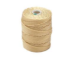 C-Lon Wheat Tex 400 (1mm) Bead Cord