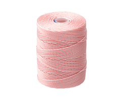 C-Lon Bubblegum Pink (.5mm) Bead Cord