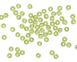 Czech Glass Olivine Round 3mm