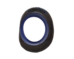 Tagua Nut Royal Open Slice (side drilled) 33-45x24-36mm