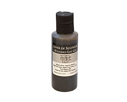 Liver of Sulfur Gel 2 oz.