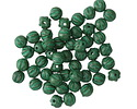 Czech Glass Kelly Green Melon Round 4mm
