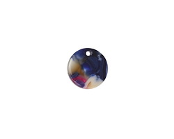 Zola Elements Twilight Acetate Coin Charm 14mm