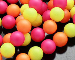Neon Shell Pearl Mix Round 8mm
