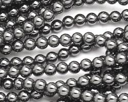 Hematite Round 4mm