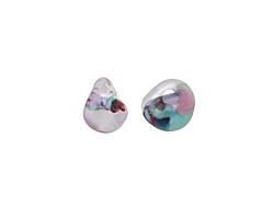 Unicorne Beads Cotton Candy Teardrop 9-10x9-10mm