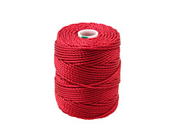 C-Lon Shanghai Red Tex 400 (1mm) Bead Cord