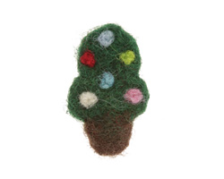Felt Christmas Tree 18-21x29-32mm