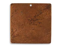 Vintaj Artisan Copper Large Square Altered Blank 29mm