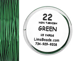 Parawire Green 22 Gauge, 15 Yards