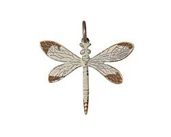 Vintaj Vogue Natural Brass Queen Dragonfly 30x35mm