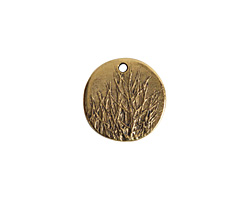 Nunn Design Antique Gold (plated) Rocky Mountain Charm 20mm
