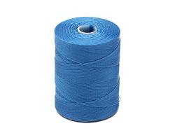 C-Lon Caribbean Blue Micro (.12mm) Bead Cord